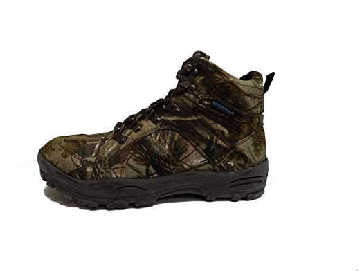 SHADOWS Mens Camo Waterproof Lace Up Hiking Winter Snow Boots