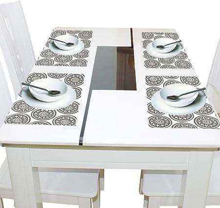 3D Rose trv/_3082/_1 Trivet With Ceramic Tiles 8 x 8