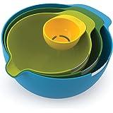 Joseph Joseph - Nest Mix - Set de 3 Bols Pâtissiers avec Séparateur d'Œuf - Multicolore
