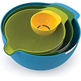 Nest Mix - Rührschüssel Set mit 4 Größen, mehrfarbig
