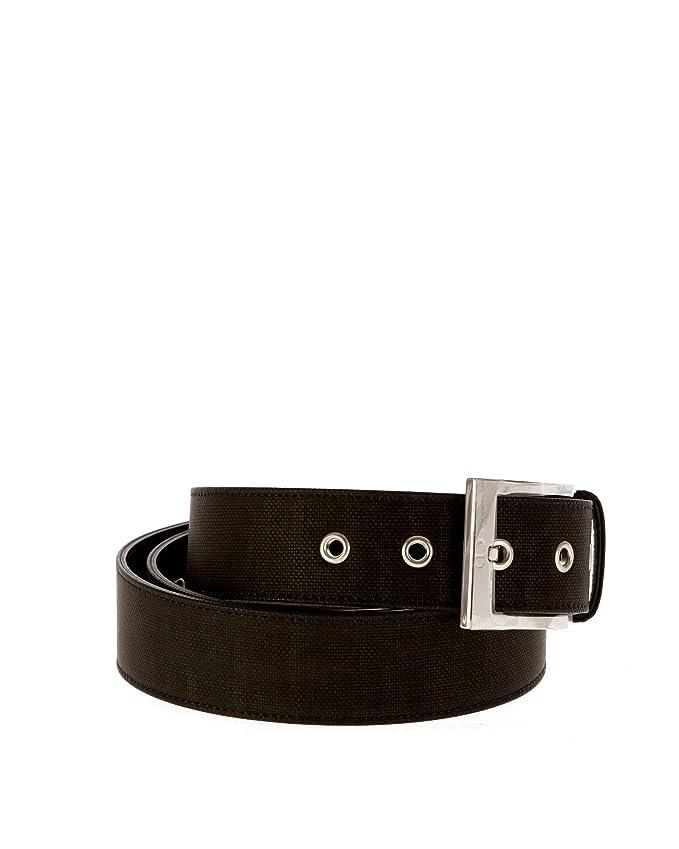 Christian Dior - Ceinture - Homme nero - grigio 120  Amazon.fr  Vêtements  et accessoires 9e25b911aac7