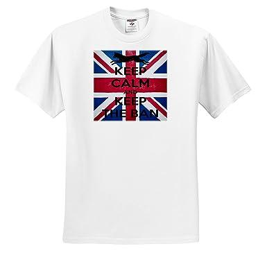 f3069f73af974 Amazon.com: Taiche - Tee Shirt - Fox - Keep Calm and Keep The Ban ...