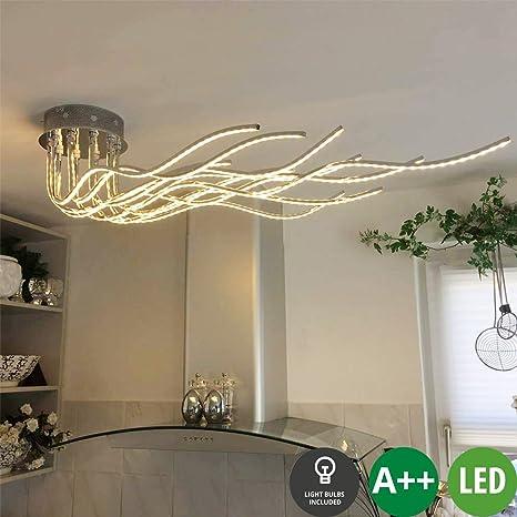 Diseño Moderno Dormitorio Pulpo Lámpara de techo LED de ...