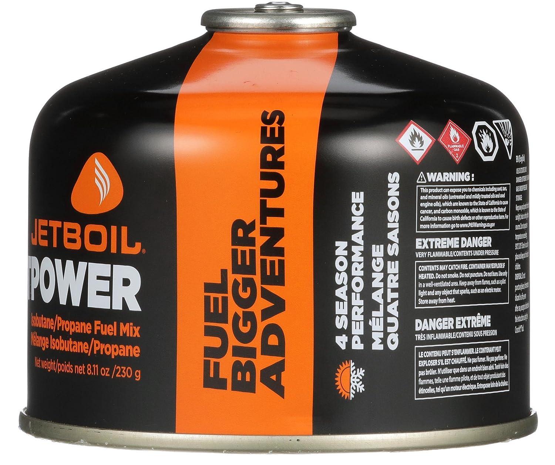Jetboil - Jetpower - Combustible para estufas de camping Jetboil, ideal para mochileros