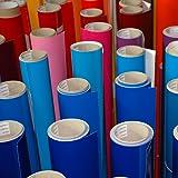 5 Meter Premium Möbelfolie und Bastelfolie Hochglanz weiß 32 Farben - verschiedene Größen - Küchenfolie - Klebefolie zum Basteln, für Möbel, Türen selbstklebende Folie Küche