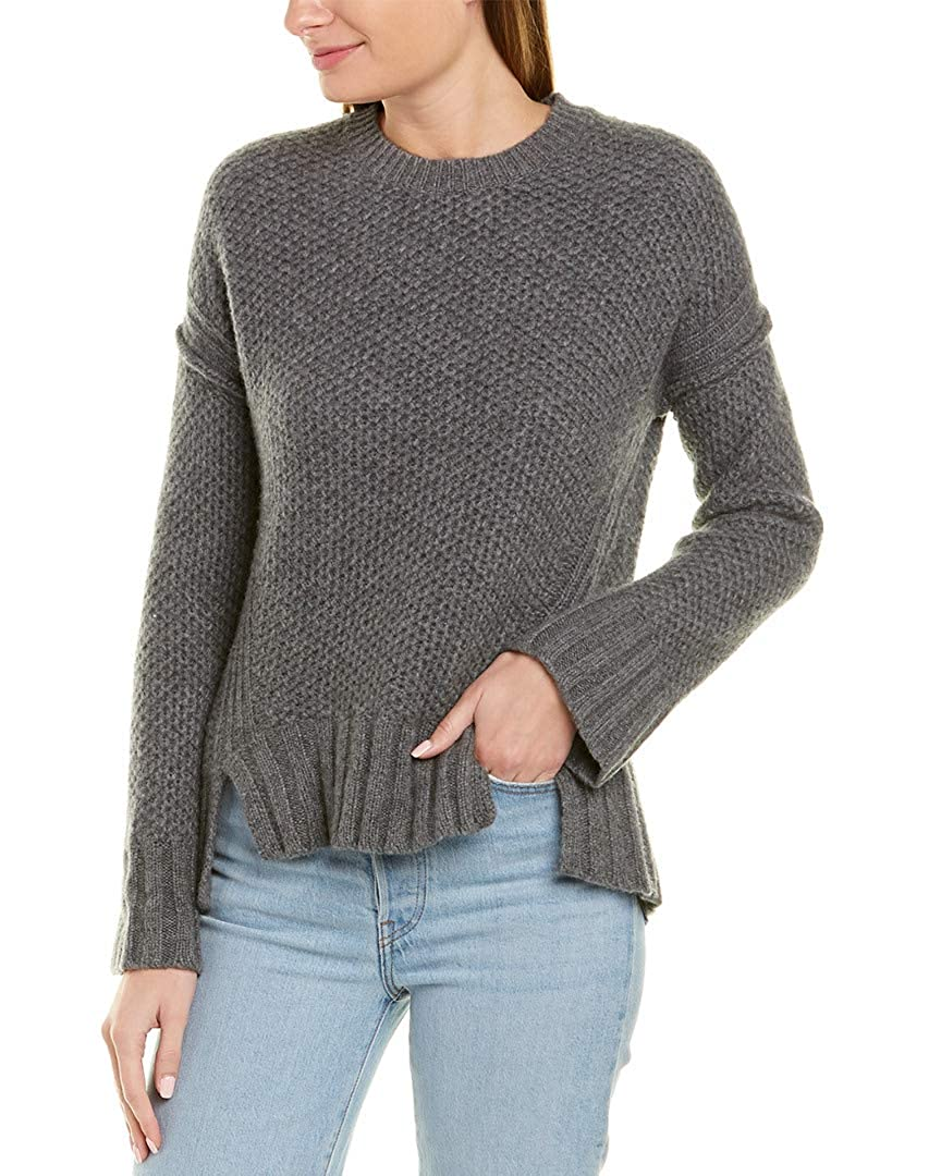 Zadig /& Voltaire Womens Mark Cashmere Sweater Grey M