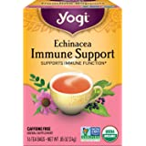 Yogi Tea - Echinacea Immune Support (4 Pack) - Supports Immune Function - 64 Tea Bags