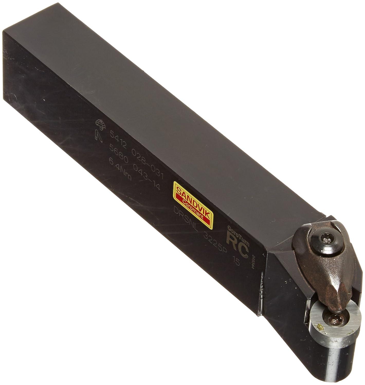 External Rectangular Shank Rigid Clamp 170mm Length x 32mm Width RNMG 54 Insert Size Steel 32mm Width x 25mm Height Shank Left Hand Sandvik Coromant DRSNL 3225P 15 Turning Insert Holder