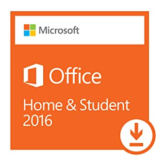 Amazon.com: Microsoft Office Home and Student 2016 | 1 user, PC ...