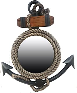 product image for Piazza Pisano Anchor Nautical Decor Wall Mirror