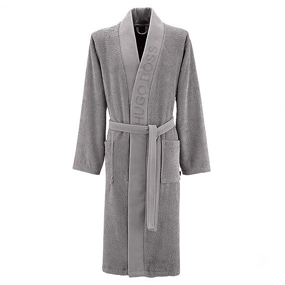BOSS Hugo Homeware Mens Kimono Dressing Gown Egyptian Cotton: Amazon ...