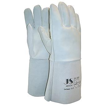 Staffl johann 80046 - Guantes de soldadura de argón en 388 categoría ii material piel dividida