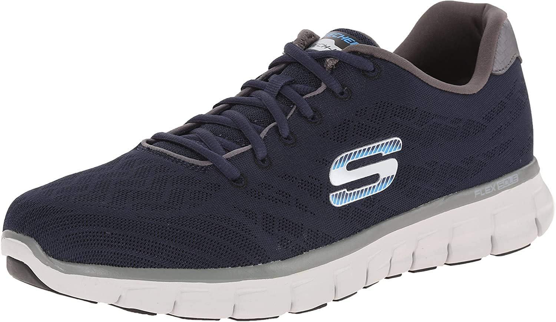 Skechers Synergy Fine-Tune Sneakers voor heren Blue Nvgy sSP99XBj