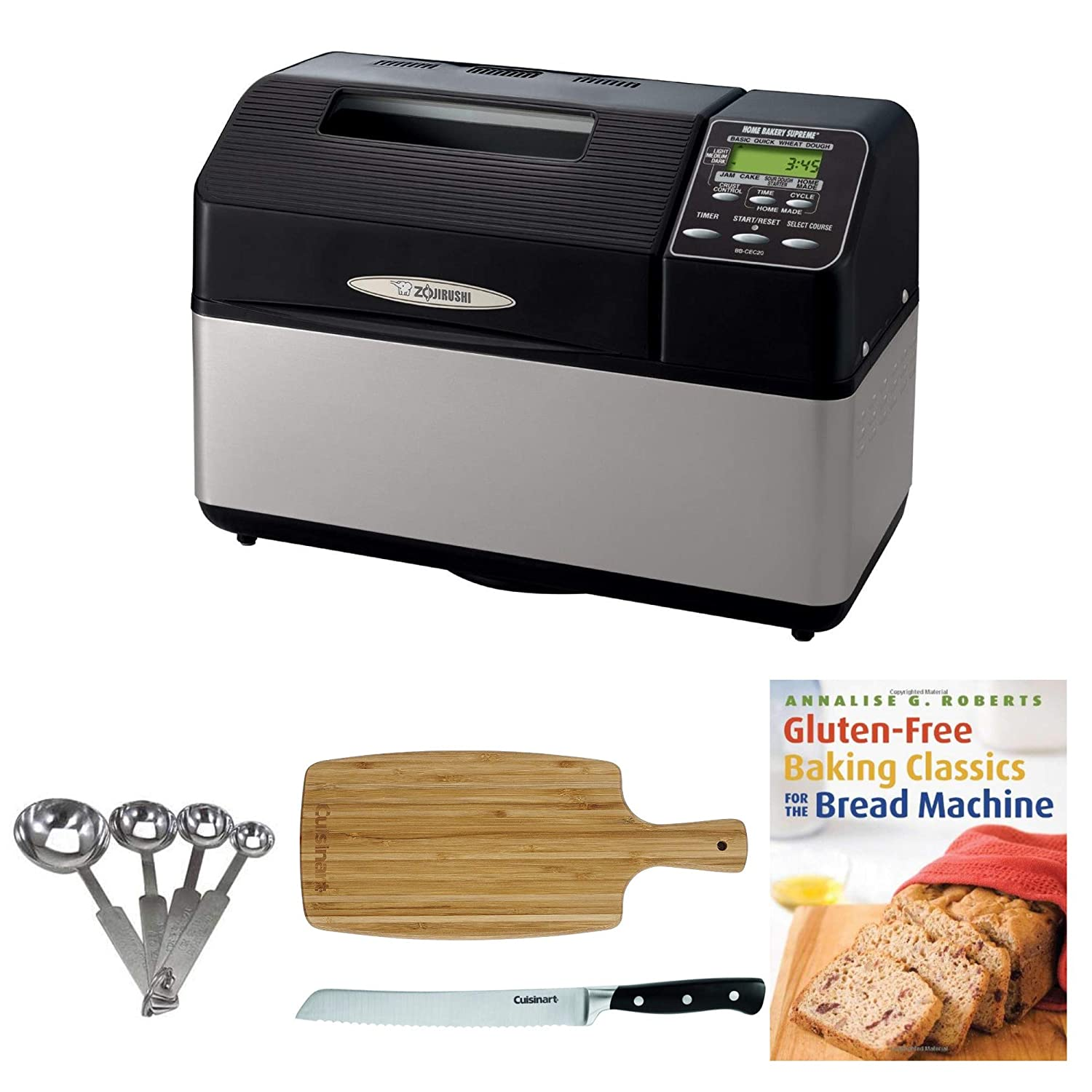 Zojirushi bb-cec20 Home Bakery Supremo 2-pound-loaf ...
