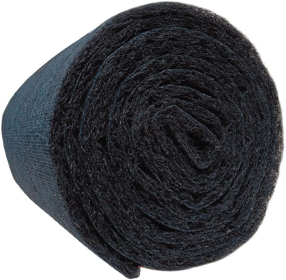 "AIR HANDLER Synthetic Hog Hair Filter Media Roll 122 ft. length x 122"" width  x 12"" thick"