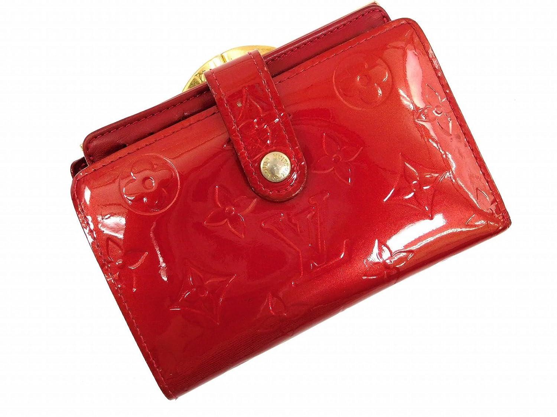 [ルイヴィトン] LOUIS VUITTON 二つ折り財布 ヴェルニ M93528 パテントレザー X6207 中古 B00RFH6B22