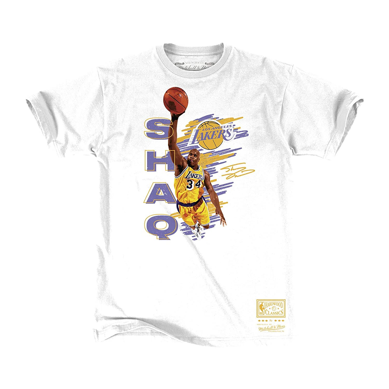 the best attitude 0cc60 830e2 Mitchell & Ness NBA Los Angeles Lakers Shaq T-Shirt at ...