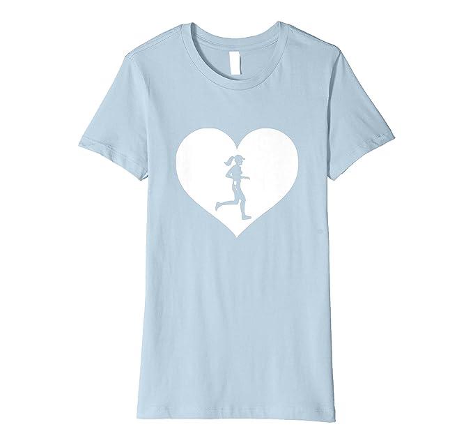 Womens Running Lover T Shirt Birthday Christmas Gift For Runners Small Baby Blue