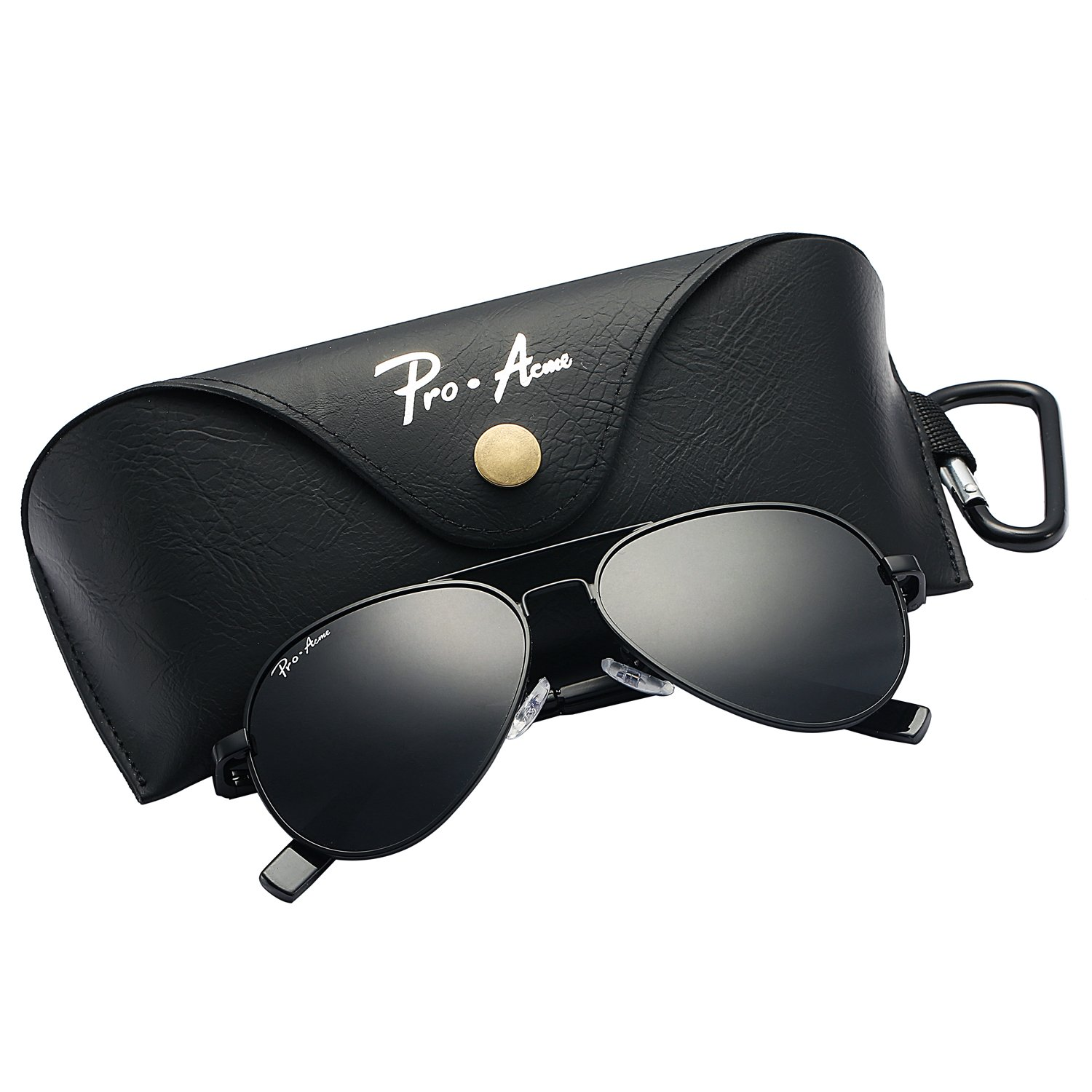 Pro Acme Small Polarized Aviator Sunglasses for Kids and Youth Age 5-18 PA3022C