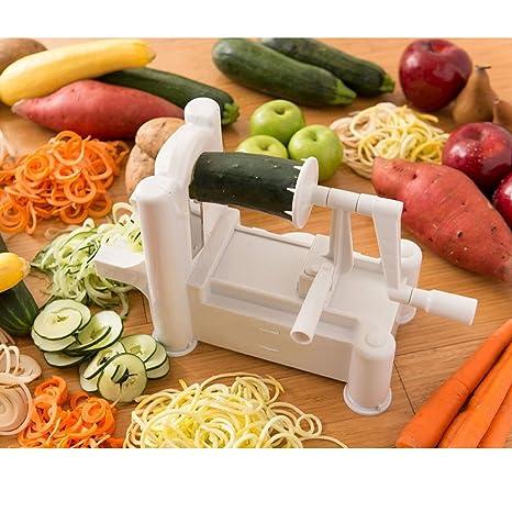 103d03ab4 Tri-lámina de plástico en espiral máquina de cortar vegetal y xFF0C ...