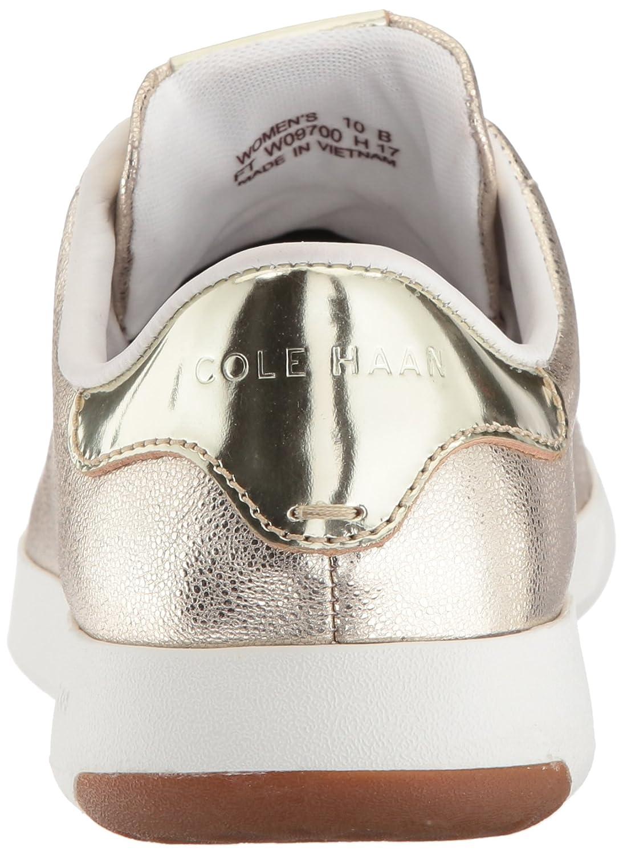 Cole Haan Women's Grandpro Tennis Leather Lace OX Fashion Sneaker B06Y5ZW6QL 11 B(M) US|Platino Glitter