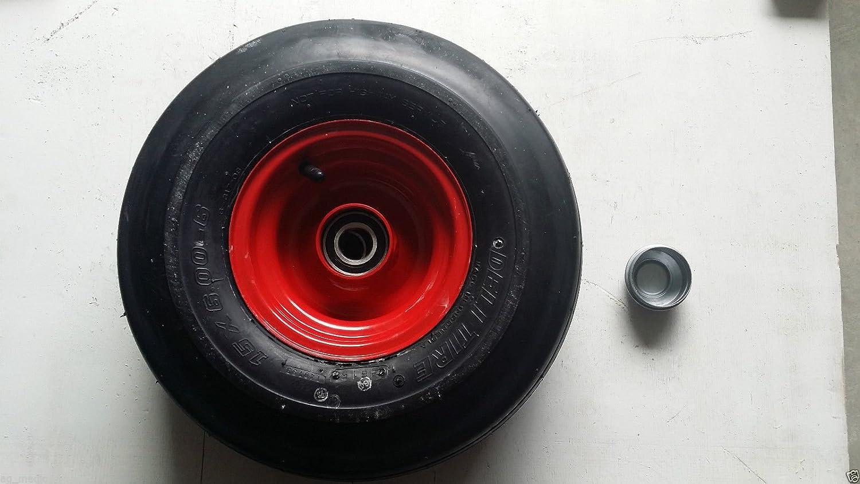 Amazon.com: 15.0 x 6.0 – 6 Tedder neumático y rueda, Fits ...