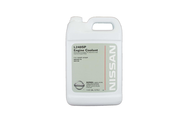 Amazon.com: Genuine Nissan Fluid 999MP-AF000P Green L248SP Engine Coolant -  1 Gallon: Automotive