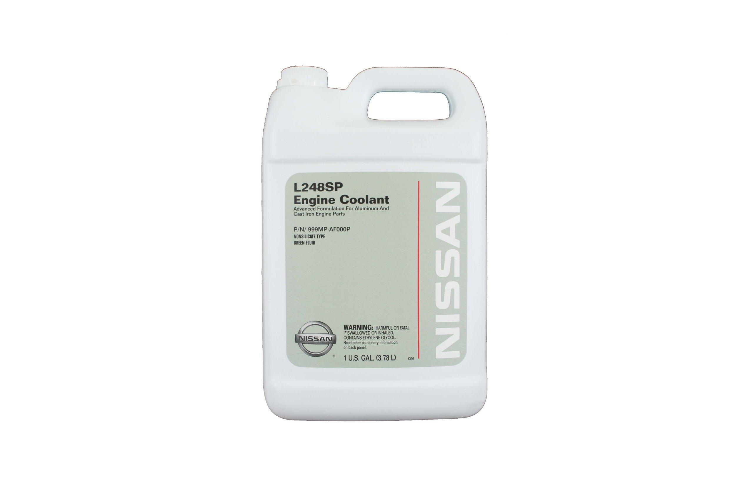 Nissan Genuine Fluid 999MP-AF000P Green L248SP Engine Coolant - 1 Gallon