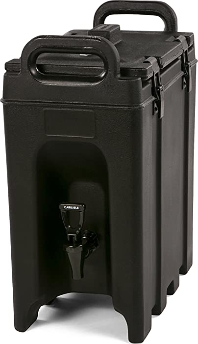 Carlisle LD250N03 Cateraide Insulated Beverage Server/Dispenser, 2.5 Gallon, Black