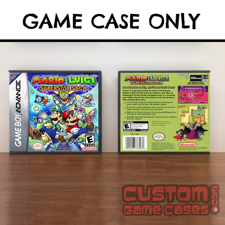 Amazon Com Gameboy Advance Mario Luigi Superstar Saga Case