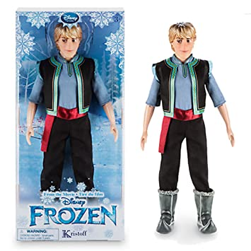 amazon com kristoff classic doll frozen fever 12 toys games