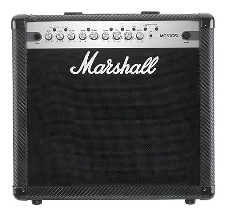 Marshall MG50CFX Combo - Amplificador de guitarra eléctrica con efectos, ...