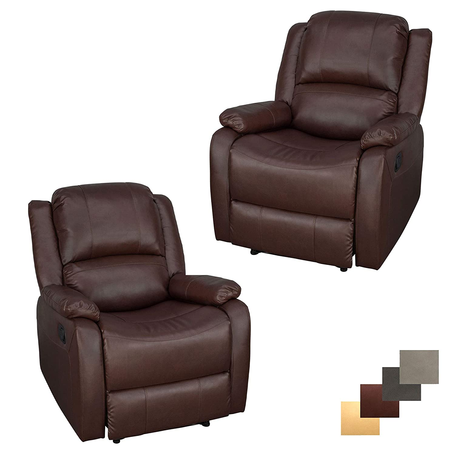 Rv Chairs Recliners >> Amazon Com Recpro Set Of 2 Charles Collection 30 Zero Wall Rv