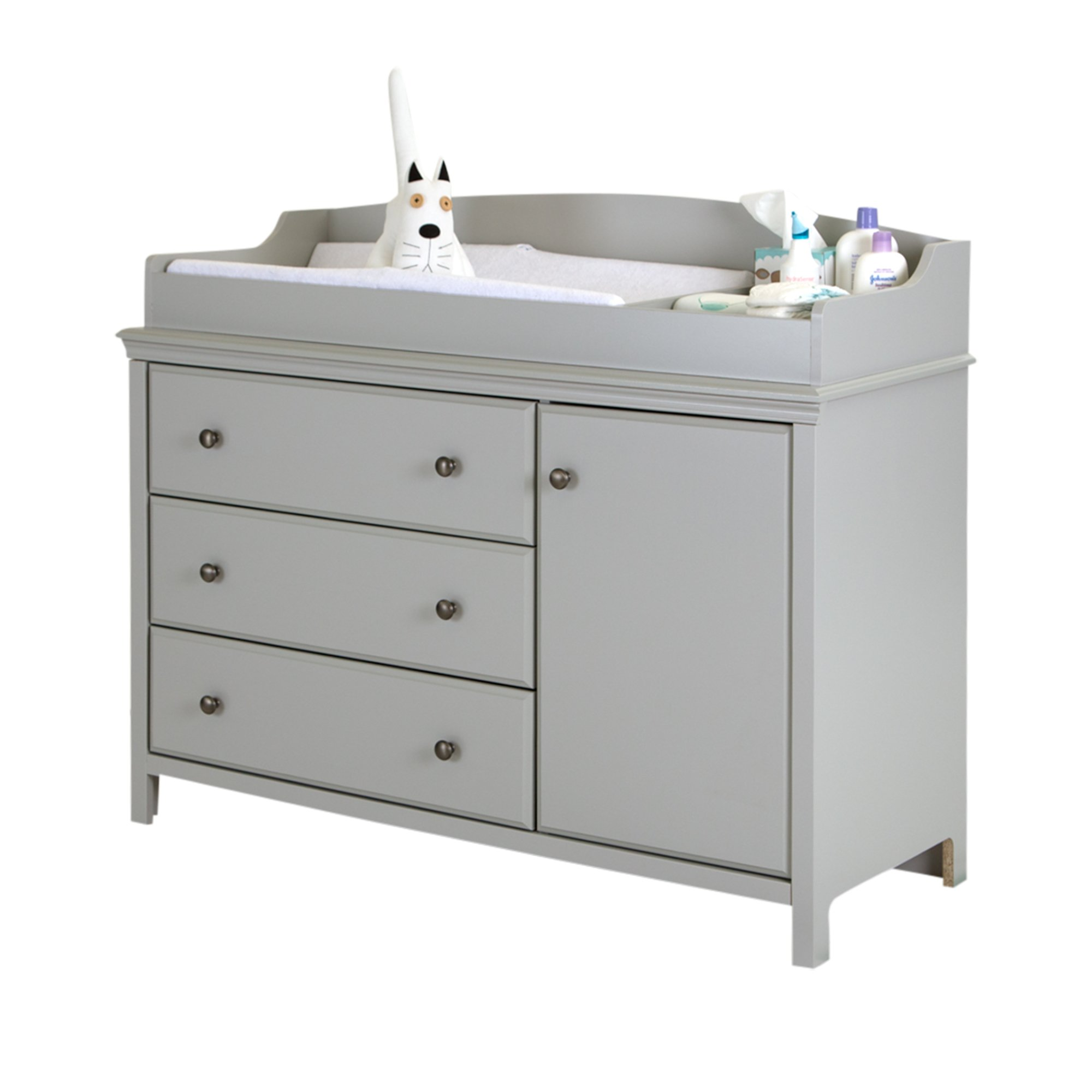 South Shore Cotton Candy Changing Table with Removable Changing Station, Sumptuous Cherry by South Shore (Image #6)