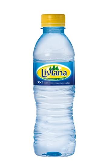 Fuente liviana botella 33 cl