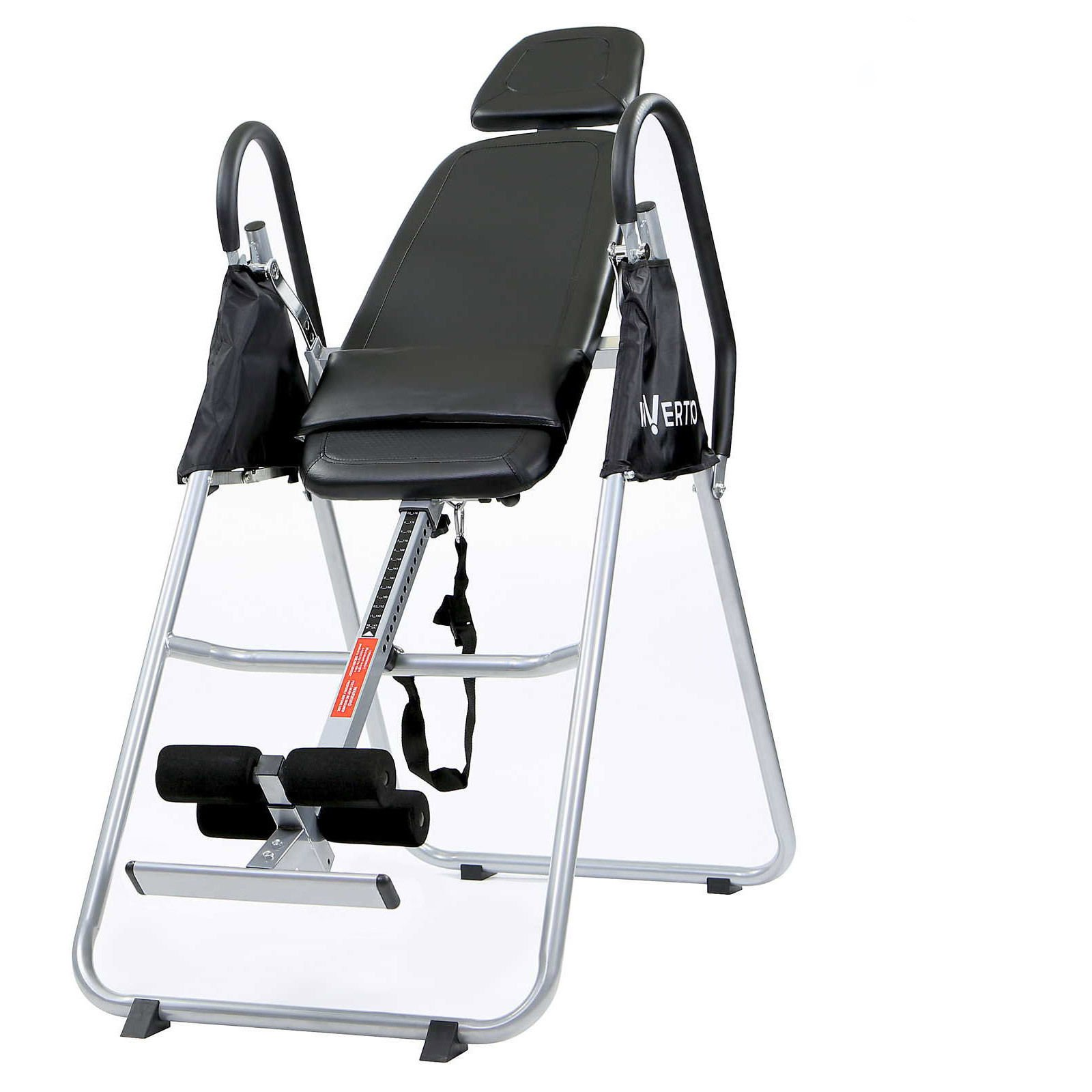 New Folding Inversion Table - Anti Gravity Back Fitness Therapy Relief