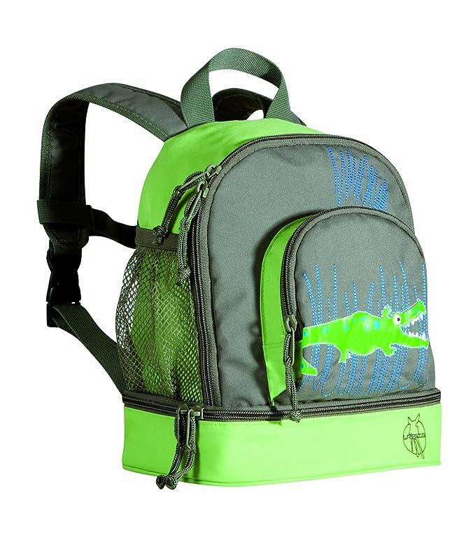 Amazon.com | Lassig Kids Kindergarten Backpack Crocodile Granny | Kids Backpacks