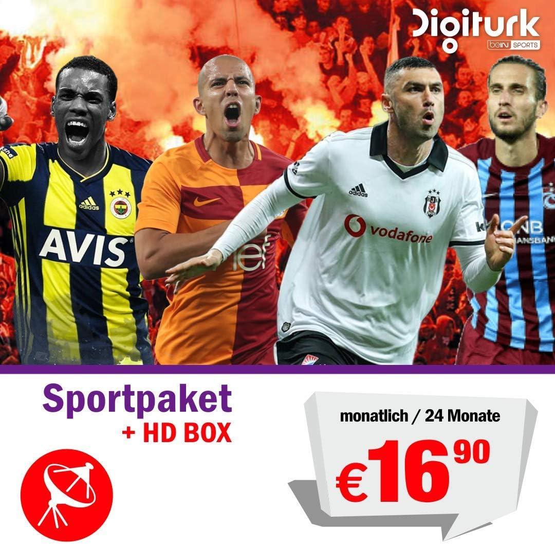 Digitürk Euro Bein Sport TR Satélite: Amazon.es: Electrónica
