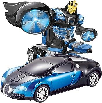 Ycco Juguetes para niños Transformers Robot Car Modo dual 360 ...