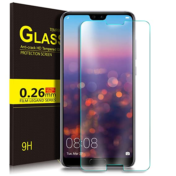 timeless design 52539 6aec0 Amazon.com: Huawei Mate 20 Pro Screen Protector, Yocktec [9H ...