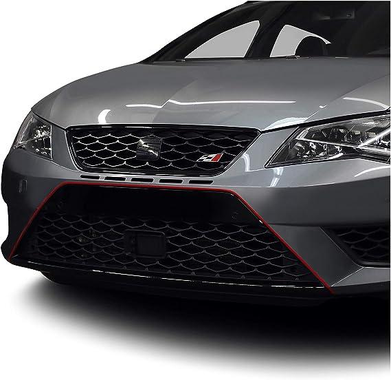Finest Folia Designline Folie Stripe Streifen Aufkleber Kx006 Rot Auto