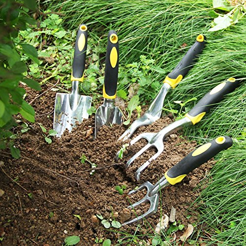 Free shipping iswees 7 piece garden tools set 5 for Gardening tools malaysia