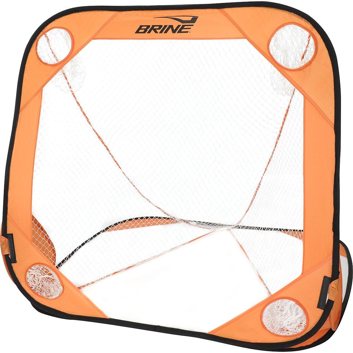 Amazon.com : Brine Lacrosse Back Yard Wars Goal (4 X 4 Feet, Orange) :  Sports U0026 Outdoors