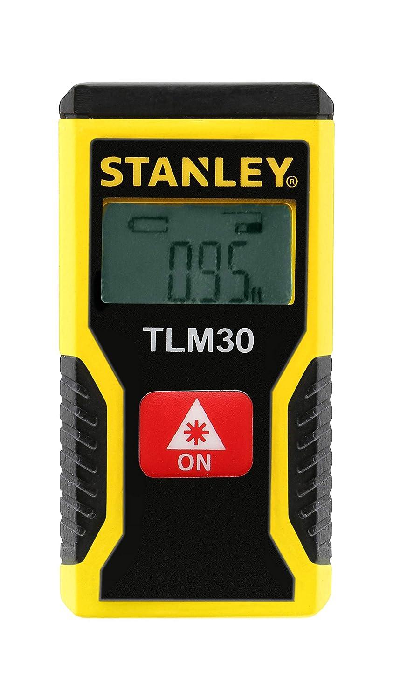 Stanley STHT9-77425 TLM30 Té lé mè tre de Poche, Jaune/Noir