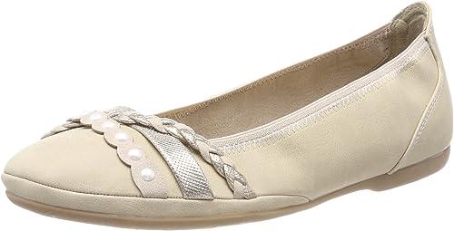 Amazon.co.uk: Marco Tozzi Ballet Flats Women's Shoes