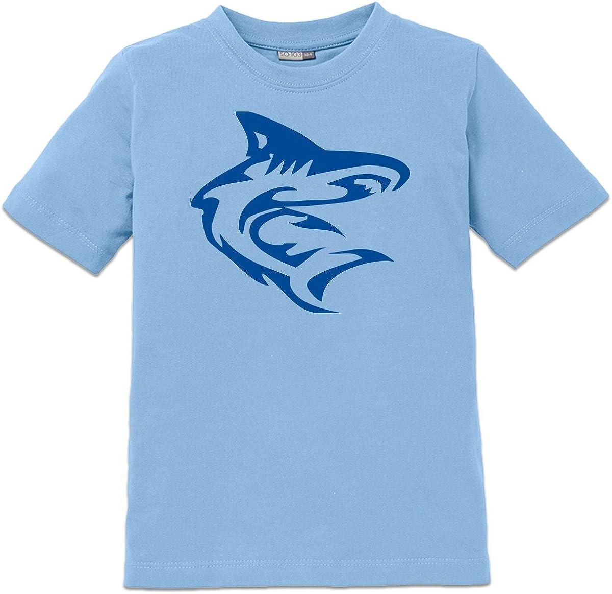 Camiseta de niño Tiburón Tribal by Shirtcity: Amazon.es: Ropa y accesorios