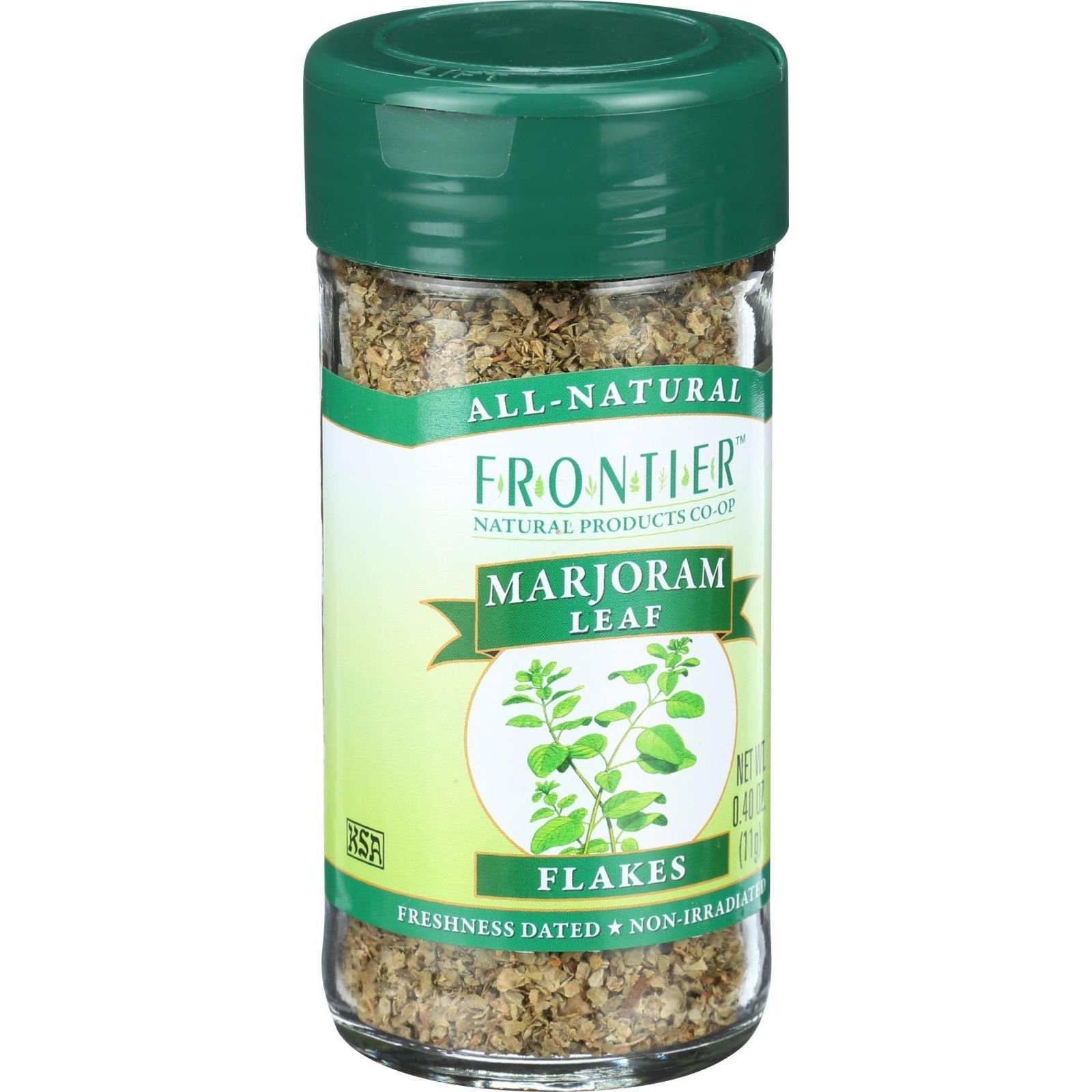 Frontier Natural Products Marjoram Leaf, 0.40-Ounce