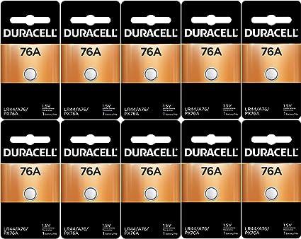 Amazon Duracell Lr44 Duralock 15v Button Cell Battery 10