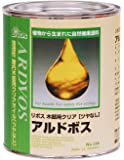 リボス 自然健康塗料 アルドボス(木部用塗料) クリア 0.75L
