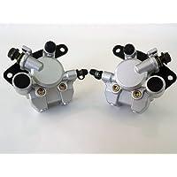2PCS Front Brake Disc Rotor For Suzuki Eiger 400 LTA400 LTF400  2002-2007